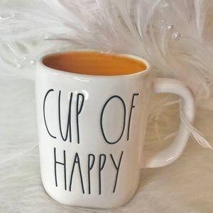 RAE DUNN CUP OF HAPPY MUG